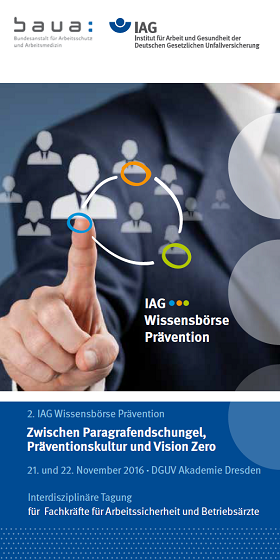 Flyer 2. IAG-Wissensboerse Präevention 2016