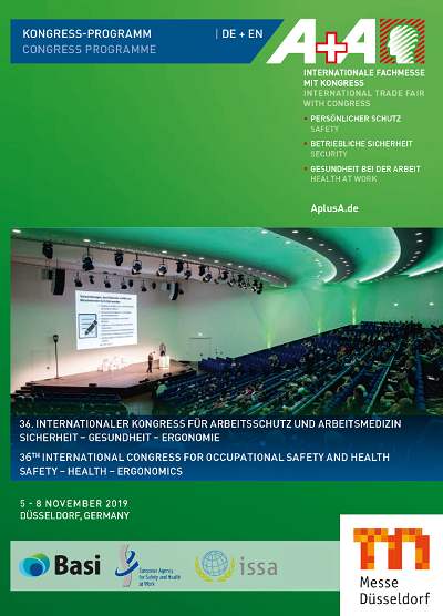 Flyer A+A Kongress 2019 Auszug