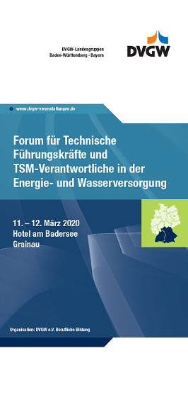 Flyer Forum TFK DVGW 2020