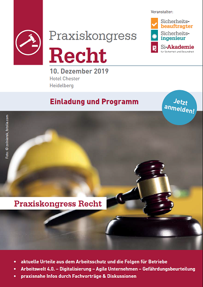 Flyer Praxiskongress Recht 2019